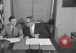 Image of Official signs document Washington DC USA, 1956, second 9 stock footage video 65675056074