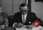 Image of Official signs document Washington DC USA, 1956, second 12 stock footage video 65675056074