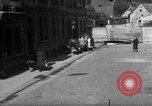 Image of lined up people Wiesbaden Germany, 1946, second 2 stock footage video 65675056075