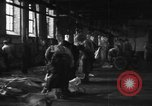 Image of activities at slaughterhouse Germany, 1946, second 6 stock footage video 65675056076