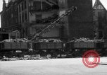 Image of bomb damage and rebuilding in Munich after war Munich Germany, 1946, second 7 stock footage video 65675056085