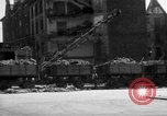 Image of bomb damage and rebuilding in Munich after war Munich Germany, 1946, second 8 stock footage video 65675056085