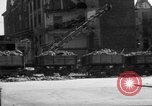 Image of bomb damage and rebuilding in Munich after war Munich Germany, 1946, second 10 stock footage video 65675056085