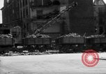 Image of bomb damage and rebuilding in Munich after war Munich Germany, 1946, second 12 stock footage video 65675056085