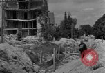 Image of reconstruction work Ulm Germany, 1945, second 12 stock footage video 65675056095