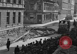 Image of British truck Vienna Austria, 1945, second 4 stock footage video 65675056106