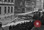 Image of British truck Vienna Austria, 1945, second 5 stock footage video 65675056106