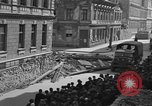 Image of British truck Vienna Austria, 1945, second 6 stock footage video 65675056106