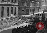 Image of British truck Vienna Austria, 1945, second 7 stock footage video 65675056106