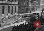 Image of British truck Vienna Austria, 1945, second 8 stock footage video 65675056106