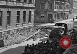 Image of British truck Vienna Austria, 1945, second 9 stock footage video 65675056106