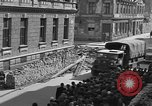 Image of British truck Vienna Austria, 1945, second 10 stock footage video 65675056106