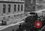 Image of British truck Vienna Austria, 1945, second 11 stock footage video 65675056106