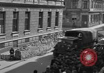 Image of British truck Vienna Austria, 1945, second 12 stock footage video 65675056106