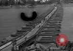 Image of Bailey bridge Remagen Germany, 1945, second 1 stock footage video 65675056114