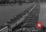 Image of Bailey bridge Remagen Germany, 1945, second 2 stock footage video 65675056114