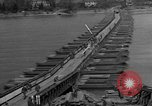 Image of Bailey bridge Remagen Germany, 1945, second 3 stock footage video 65675056114