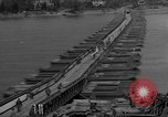 Image of Bailey bridge Remagen Germany, 1945, second 5 stock footage video 65675056114