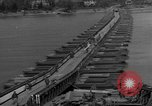 Image of Bailey bridge Remagen Germany, 1945, second 6 stock footage video 65675056114
