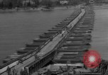 Image of Bailey bridge Remagen Germany, 1945, second 7 stock footage video 65675056114