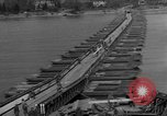 Image of Bailey bridge Remagen Germany, 1945, second 8 stock footage video 65675056114