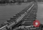 Image of Bailey bridge Remagen Germany, 1945, second 9 stock footage video 65675056114