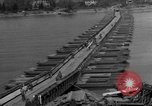 Image of Bailey bridge Remagen Germany, 1945, second 10 stock footage video 65675056114