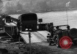 Image of Bailey bridge Remagen Germany, 1945, second 12 stock footage video 65675056114