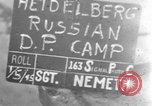 Image of Russian Displaced Persons Camp Heidelberg Germany, 1945, second 3 stock footage video 65675056132