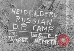 Image of Russian Displaced Persons Camp Heidelberg Germany, 1945, second 1 stock footage video 65675056135