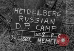 Image of Russian Displaced Persons Camp Heidelberg Germany, 1945, second 2 stock footage video 65675056135