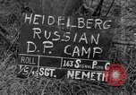 Image of Russian Displaced Persons Camp Heidelberg Germany, 1945, second 3 stock footage video 65675056135