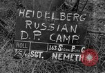 Image of Russian Displaced Persons Camp Heidelberg Germany, 1945, second 4 stock footage video 65675056135
