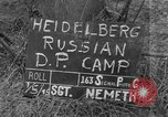 Image of Russian Displaced Persons Camp Heidelberg Germany, 1945, second 5 stock footage video 65675056135