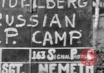 Image of Russian Displaced Persons Camp Heidelberg Germany, 1945, second 3 stock footage video 65675056137