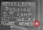 Image of Russian Displaced Persons Camp Heidelberg Germany, 1945, second 1 stock footage video 65675056138