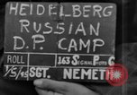 Image of Russian Displaced Persons Camp Heidelberg Germany, 1945, second 2 stock footage video 65675056138