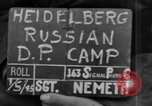 Image of Russian Displaced Persons Camp Heidelberg Germany, 1945, second 3 stock footage video 65675056138