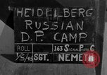 Image of Russian Displaced Persons Camp Heidelberg Germany, 1945, second 1 stock footage video 65675056139
