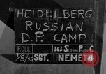 Image of Russian Displaced Persons Camp Heidelberg Germany, 1945, second 2 stock footage video 65675056139