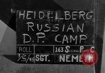 Image of Russian Displaced Persons Camp Heidelberg Germany, 1945, second 3 stock footage video 65675056139