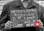 Image of Russian Displaced Persons Camp Heidelberg Germany, 1945, second 1 stock footage video 65675056140