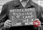 Image of Russian Displaced Persons Camp Heidelberg Germany, 1945, second 3 stock footage video 65675056140