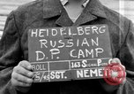 Image of Russian Displaced Persons Camp Heidelberg Germany, 1945, second 5 stock footage video 65675056140
