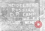 Image of Russian Displaced Persons Camp Heidelberg Germany, 1945, second 1 stock footage video 65675056141