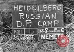 Image of Russian Displaced Persons Camp Heidelberg Germany, 1945, second 2 stock footage video 65675056141