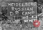 Image of Russian Displaced Persons Camp Heidelberg Germany, 1945, second 3 stock footage video 65675056141