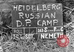 Image of Russian Displaced Persons Camp Heidelberg Germany, 1945, second 4 stock footage video 65675056141