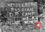 Image of Russian Displaced Persons Camp Heidelberg Germany, 1945, second 5 stock footage video 65675056141