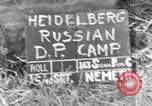 Image of Russian Displaced Persons Camp Heidelberg Germany, 1945, second 6 stock footage video 65675056141